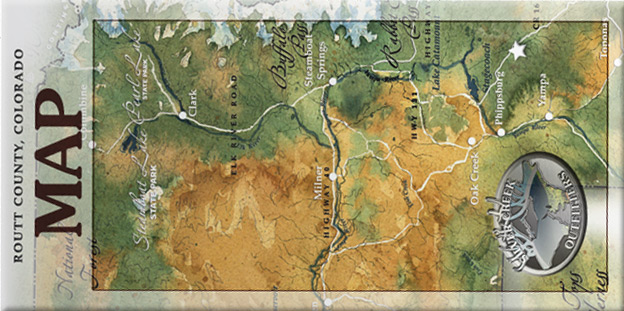 SilverCreek hunting, Map